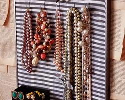 时尚简洁的饰品支架手工创意制作图片欣赏