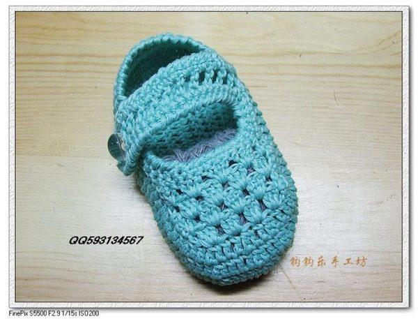 毛线宝宝鞋的织法_毛线婴儿鞋的织法——婴儿鞋编织图解╭★肉丁网