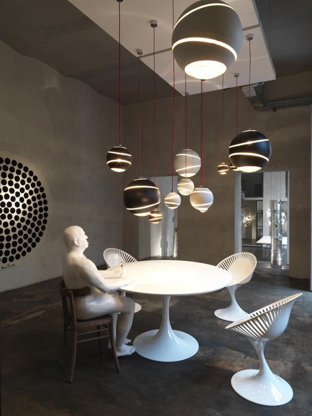 灯具图片_国外设计师的个性创意灯具设计五—餐厅灯具图片╭★肉丁网