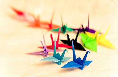 千纸鹤图片大全及千纸鹤的含义