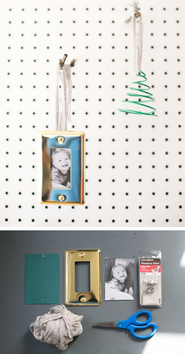Wall plate photo ornaments | Henry Happened