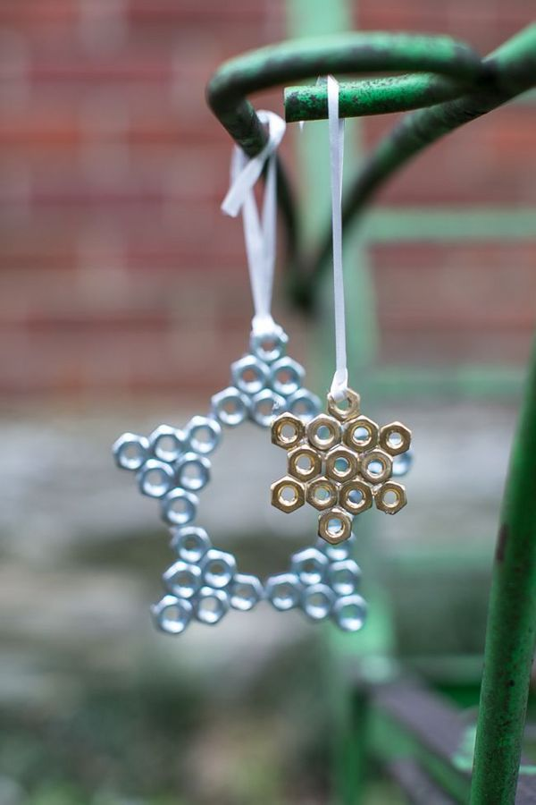 Hex nut star ornament | Henry Happened