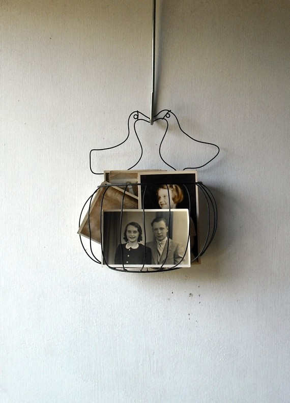 lovebirds wire hanger