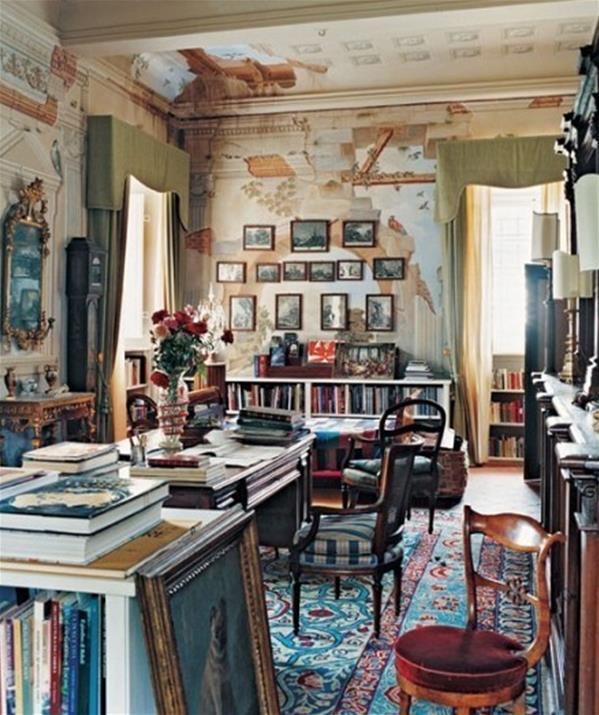 Walled Kitchen Garden Design: ǻ�你一间书房,静心看看书吧 Ŕ�美图片╭★肉丁网