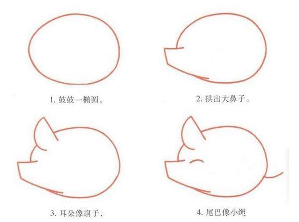 最简单的简笔画_鸽子卡通简笔画最简单画法图解