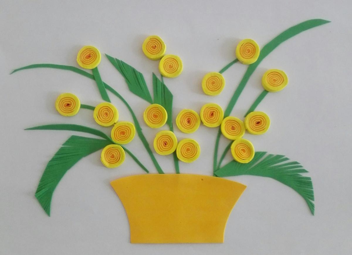 用烟盒做工艺品详细图解_教你用彩色海绵纸制作儿童手工艺品花朵详细图解 肉丁儿童网