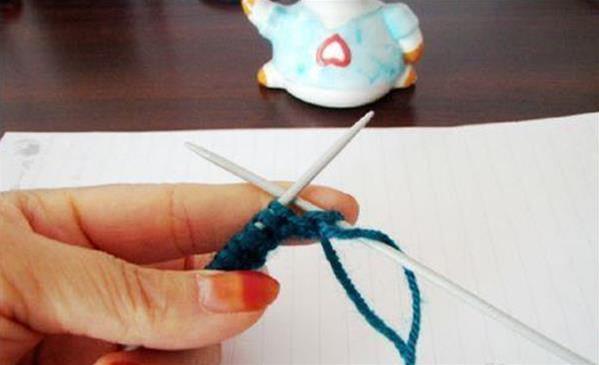元宝针毛衣编织起针步骤