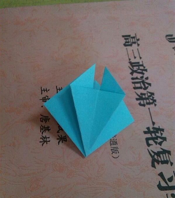 折百合花的步骤视频_简单折纸花教程 百合花的折法详细步骤图解╭★肉丁网