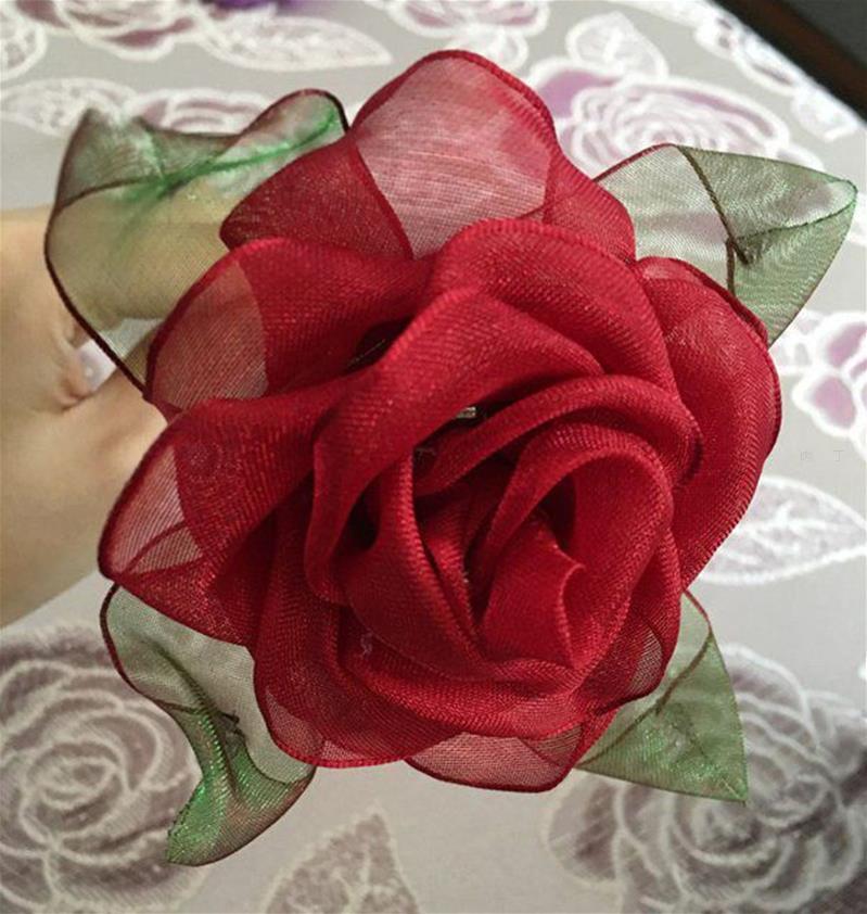 怎样用纸做玫瑰花_怎样用缎带做玫瑰花苞教程—古典玫瑰的做法╭★肉丁网