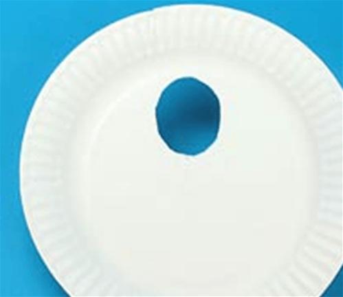 纸盘画图片-获奖作品教师_幼儿园儿童手工小制作 纸盘贴画的做法图解 肉丁儿童网