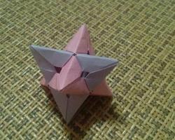 摺紙大全簡單又漂亮 立體八角星簡單摺紙步驟
