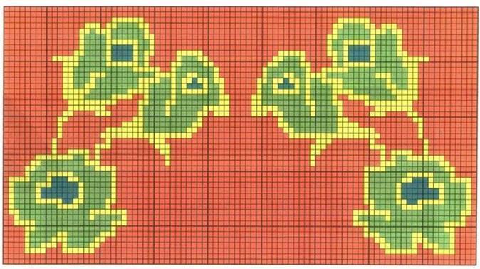 毛衣绣花花样_手工编织宝宝毛衣花样 儿童毛衣花卉图案集、1╭★肉丁网