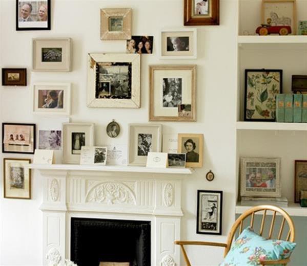 小苮儿照片墙_100个照片墙的设计和摆放 记录你的浪漫╭★肉丁网